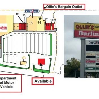 Plan of mall Diamond Hill Plaza