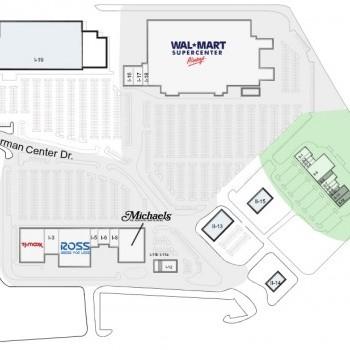 Plan of mall Dorman Centre