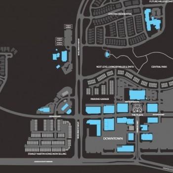 Plan of mall Downtown One Loudoun