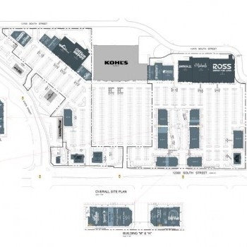 Plan of mall Draper Peaks