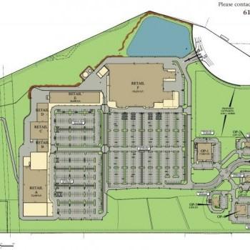Plan of mall Drumore Crossings
