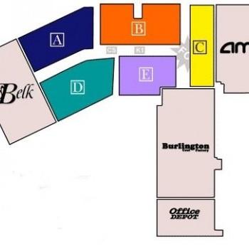 Plan of mall Dutch Square Center