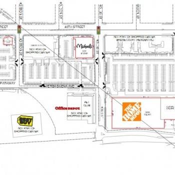 Plan of mall East Bay Bridge & Bridgecourt