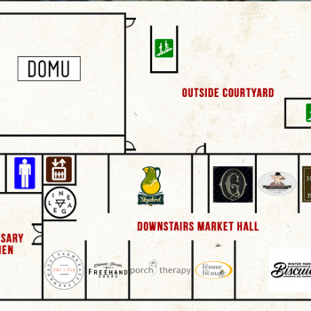Plan of mall East End Market