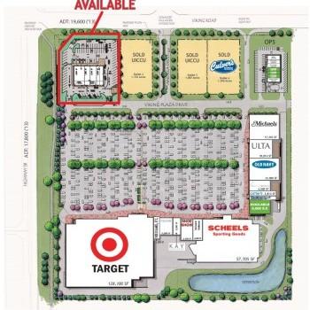 Plan of mall East Viking Plaza