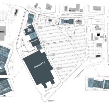 Plan of mall Eastgate