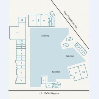 Plan of mall Eastgate Shopping Center