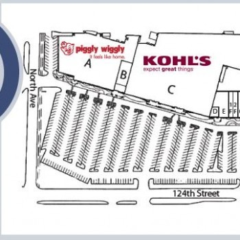 Plan of mall Elmbrook Plaza
