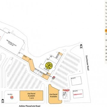 Plan of mall Festival Centre