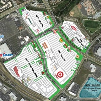 Plan of mall Foothill Ranch Towne Centre