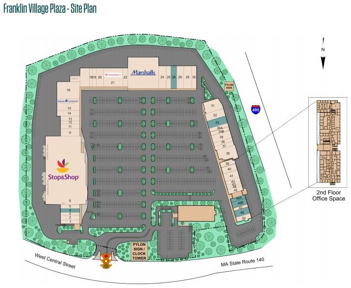 Franklin Village Plaza Store List Hours Location