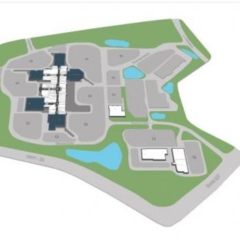 Plan of mall Freehold Raceway Village
