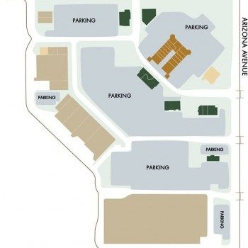 Plan of mall Fulton Ranch Towne Center