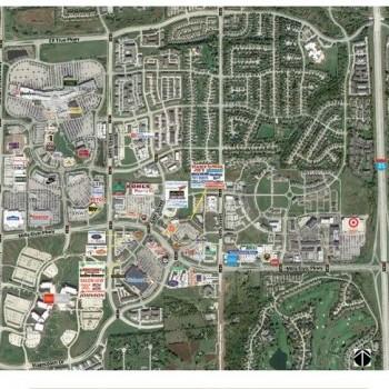 Plan of mall Galleria at Jordan Creek