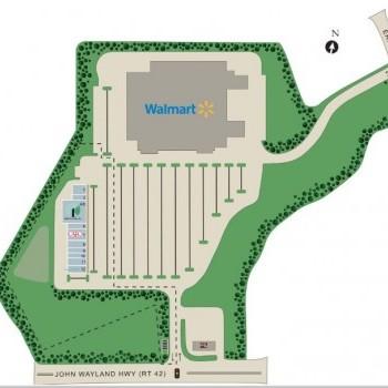 Plan of mall Garber's Crossing