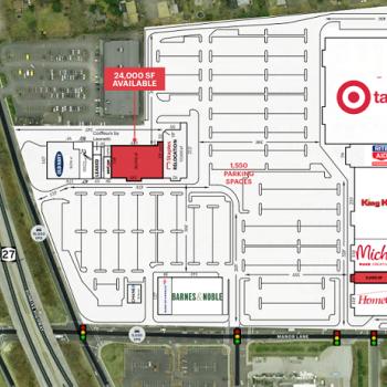 Plan of mall Gardiner Manor Mall