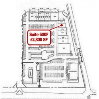 Plan of mall Garners Ferry Crossing