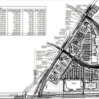 Plan of mall Gates of Prosper