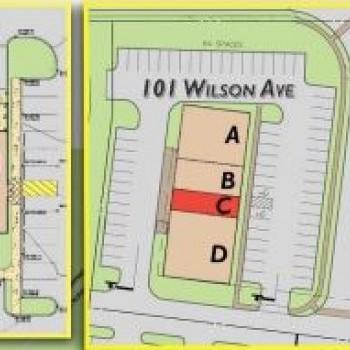 Plan of mall Gateway Hanover