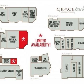 Plan of mall Grace Park
