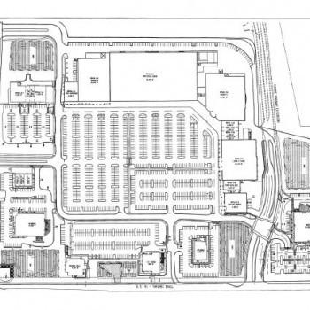 Plan of mall Granada Shoppes
