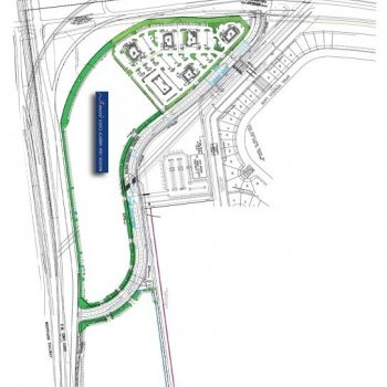 Plan of mall Grand Corners
