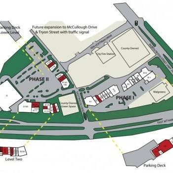 Plan of mall Grande Promenade