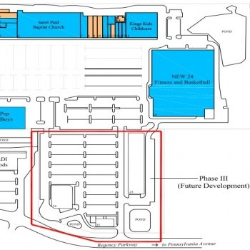 Plan of mall Great Eastern Plaza