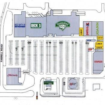 Plan of mall Green Mountain Plaza