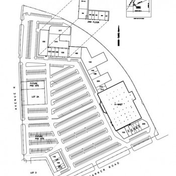 Plan of mall H MART Town Centre