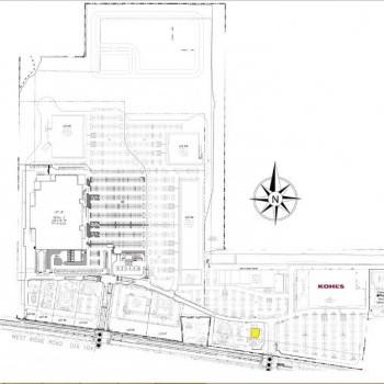 Plan of mall Hampton Ridge Center