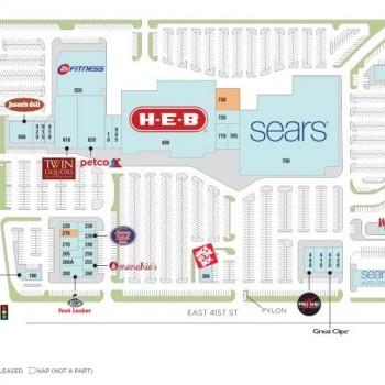 Plan of mall Hancock Center