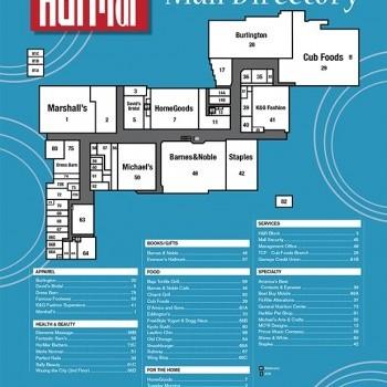 Plan of mall Har Mar Mall