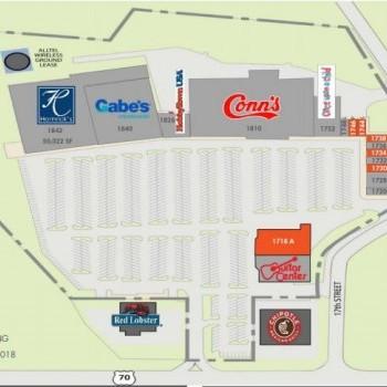 Plan of mall Hickory Corners