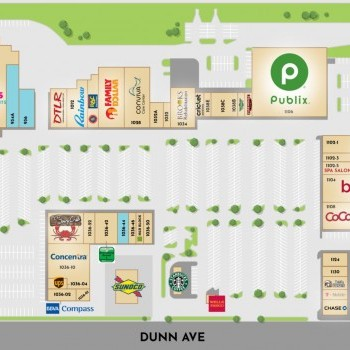 Plan of mall Highland Square