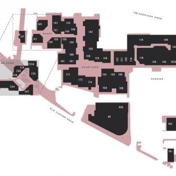 Plan of mall Highland Village