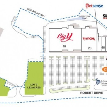 Plan of mall Highlands Plaza
