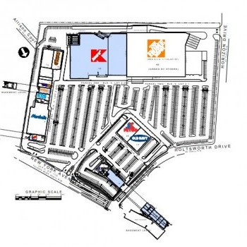 Plan of mall Huntington Commons