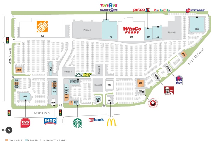Indio Towne Center - store list, hours, (location: Indio, California ...