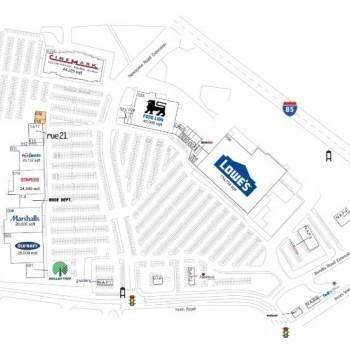 Plan of mall Innes Street Market