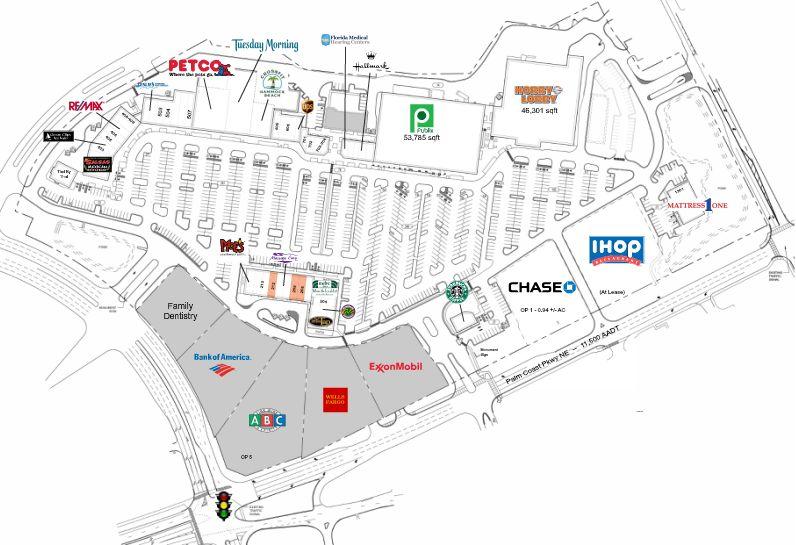 Map Of Palm Coast Florida.Island Walk Shopping Center Palm Coast Store List Hours