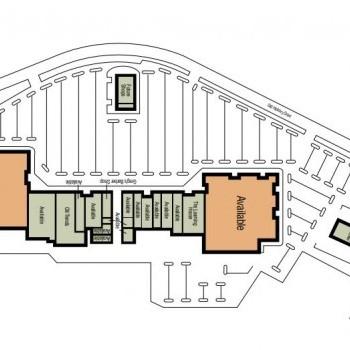 Plan of mall Jackson Plaza