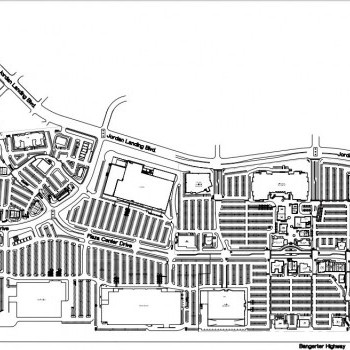 Plan of mall Jordan Landing Shopping Center