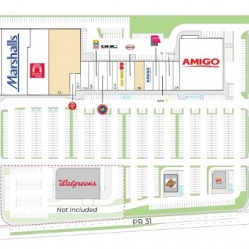 Plan of mall Juncos Plaza