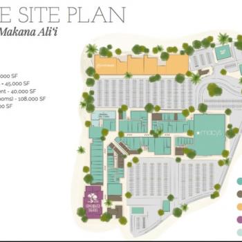 Plan of mall Ka Makana Ali'i