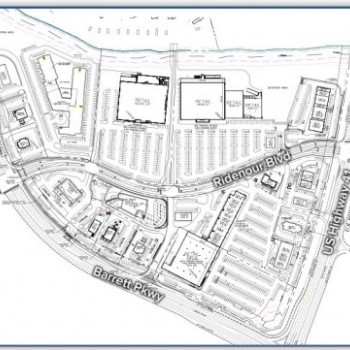 Plan of mall Kennesaw Marketplace
