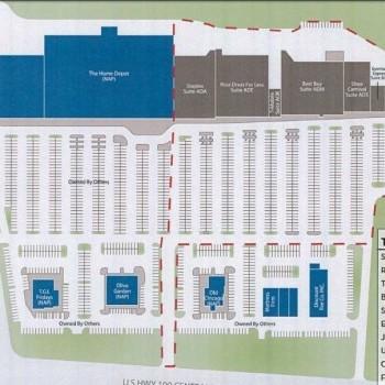 Plan of mall Killeen Marketplace