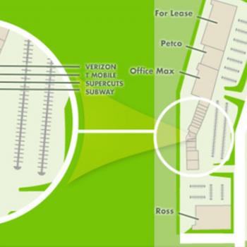 Plan of mall Kona Commons