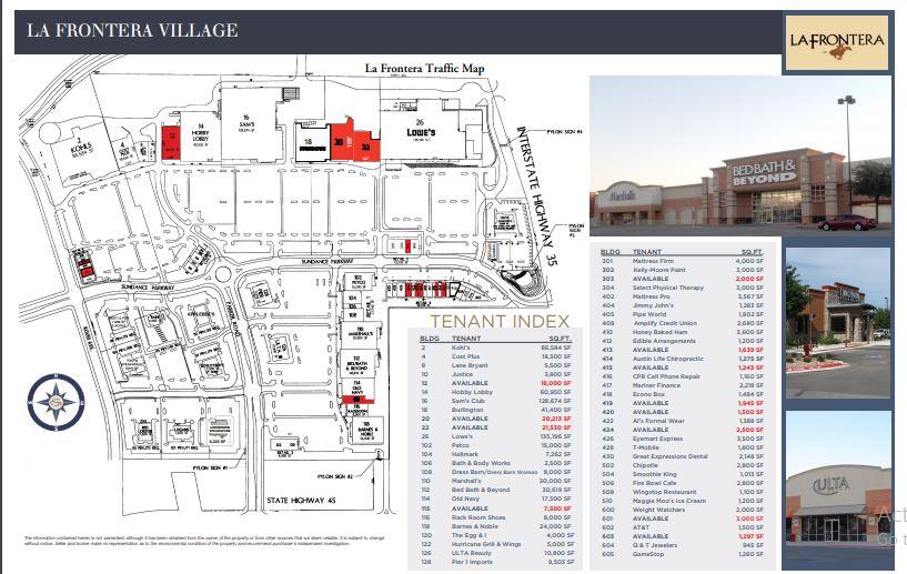La Frontera Village Store List Hours Location Round