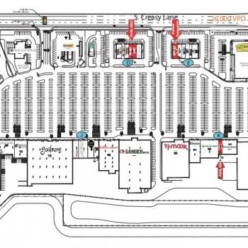 Plan of mall Lafayette Pavilions